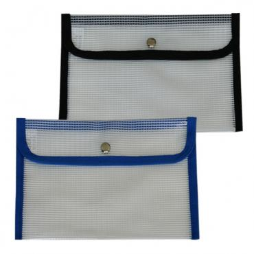 HS166: largel snap mesh bag