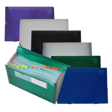 HS312: elastic closure pocket file