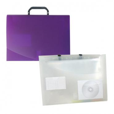 HS410: pocket file w/. 1 inch storage box