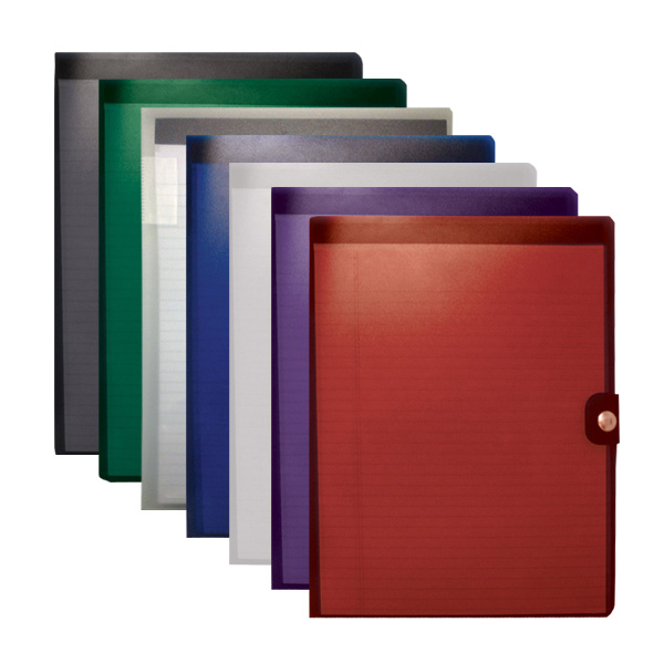 HS359: large snap pad folio